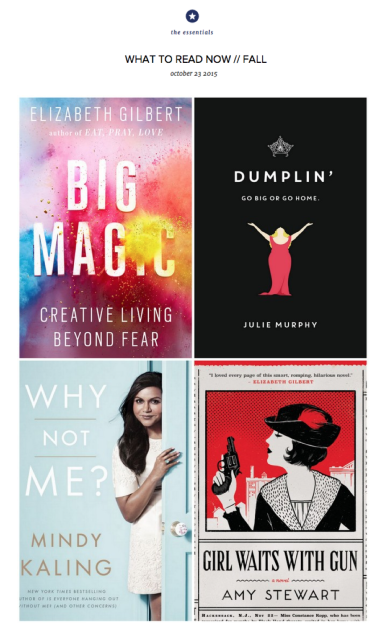 What to Read Now: Fall 2015
